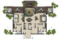 villa plan - le galawa beach resort, comoros