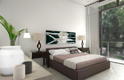 duplex apartment bedroom - elephant bay, angola