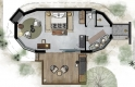 Abelana River Lodge - Bedroom Plan