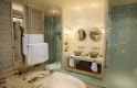 standard bedroom bathroom - seychelles beach resort, mahe